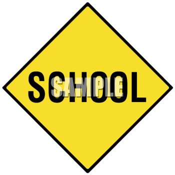 School Road Sign Clip Art School signs clipart