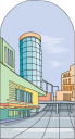 City Architecture Clipart