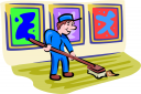 Janitor Clipart