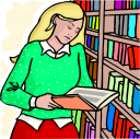 School Library Clipart