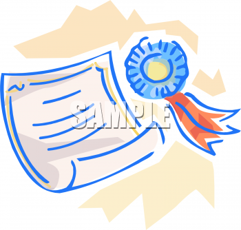 School Awards Clipart