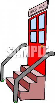 Royalty Free School House Clipart