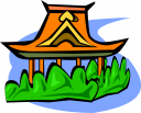 Asian Architecture Clipart