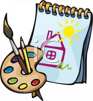 Royalty Free School Art Clipart