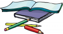 School Notebook Clipart