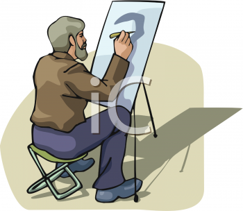 Royalty Free Artist Clipart