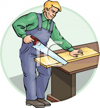 Royalty Free Carpenter Clipart