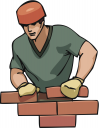 Bricklayer Clipart