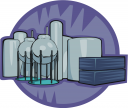 Factory Clipart