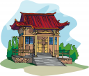 Chinese Architecture Clipart