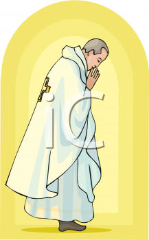 Royalty Free Priest Clipart