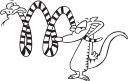 Mongoose Clipart