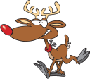 Rudolph the Red Nosed Reindeer Clipart