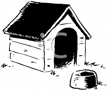 Cartoon animal shelter clipart image