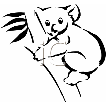 Koala Tribal Tattoo