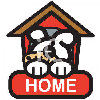Clip Art Houses Free. Royalty Free Pet Clipart