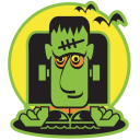 Haunted Halloween Clipart