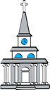 Christian Architecture Clipart