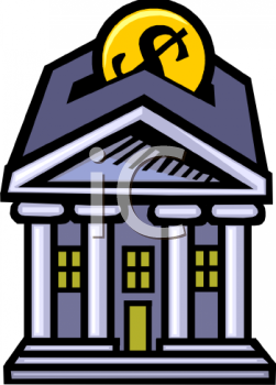 Royalty Free Commercial Building Clipart