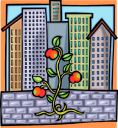 Commercial Building Clipart