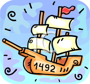royalty free columbus day clipart