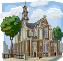 Dutch Architecture Clipart