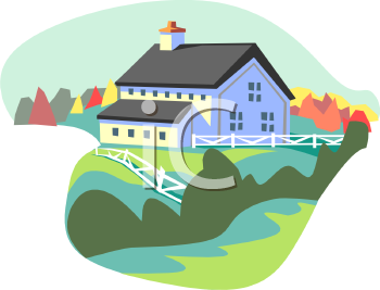 Folk Architecture Clipart