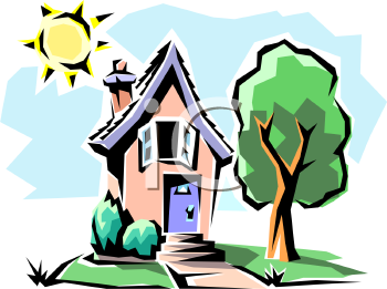 Royalty Free Housing Clipart