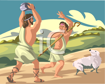 Cain and Abel Clip Art