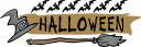 Witches Broomstick Clipart