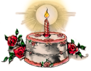 Christmas Candles Clipart
