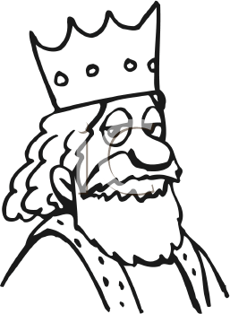 Royalty Free King Clip... King Clip Art Black And White