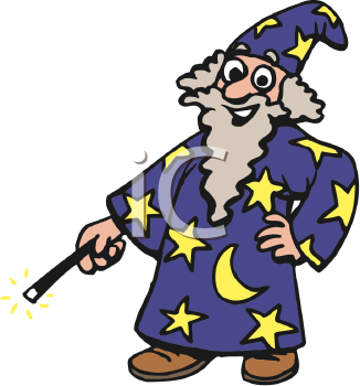 Royalty Free Wizard Clipart