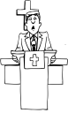 Minister Clipart