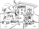 Clubhouse Clipart