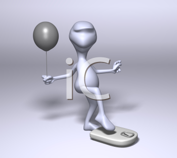 Free Clipart Picture of a 3D