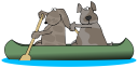 Canoe and Kayak Clipart