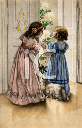 Victorian Christmas Clipart