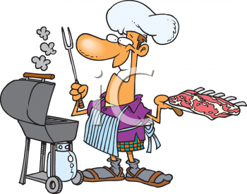 BBQ Chicken Cartoon http://www.clipartpal.com/clipart/food/chef_164936.html