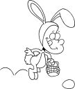 Easter Egg Hunt Clipart