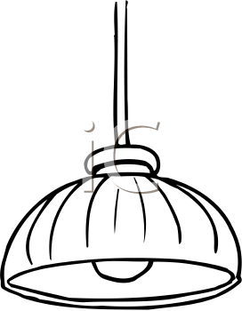 royalty free clipart of lamp