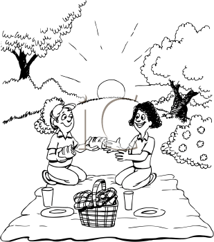 Royalty Free Picnic Clipart