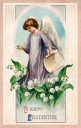 Easter Angel Clipart