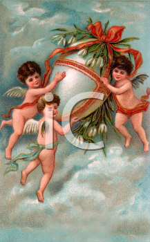 Victorian Easter Clipart
