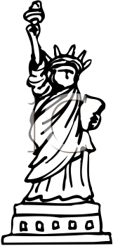 Royalty Free Statue Clipart