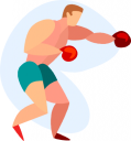 Boxing Clipart