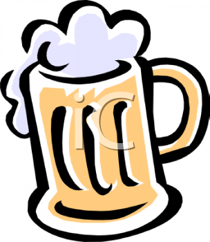 Royalty Free Clipart of Beer
