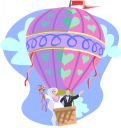 Hot Air Balloon Clipart