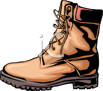 Royalty Free Clipart of Boot