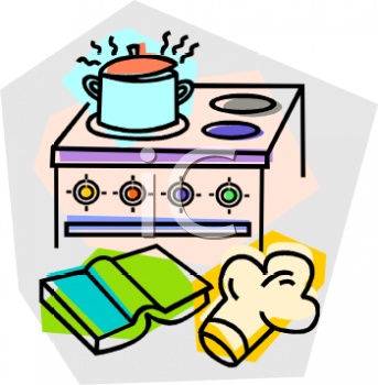 Royalty Free Clipart of Oven